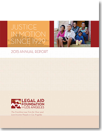 Annual Reports | Lafla: Legal Aid Foundation Of Los Angeles